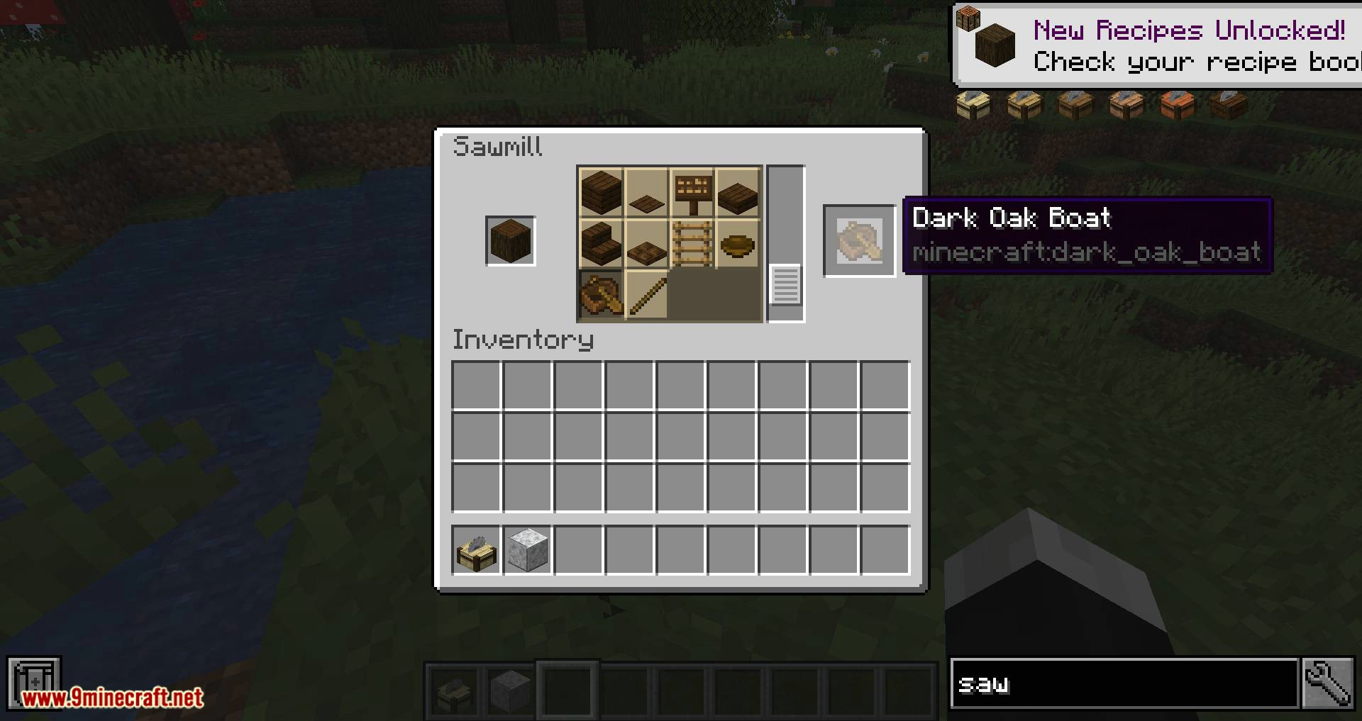 Corail Woodcutter mod for minecraft 03