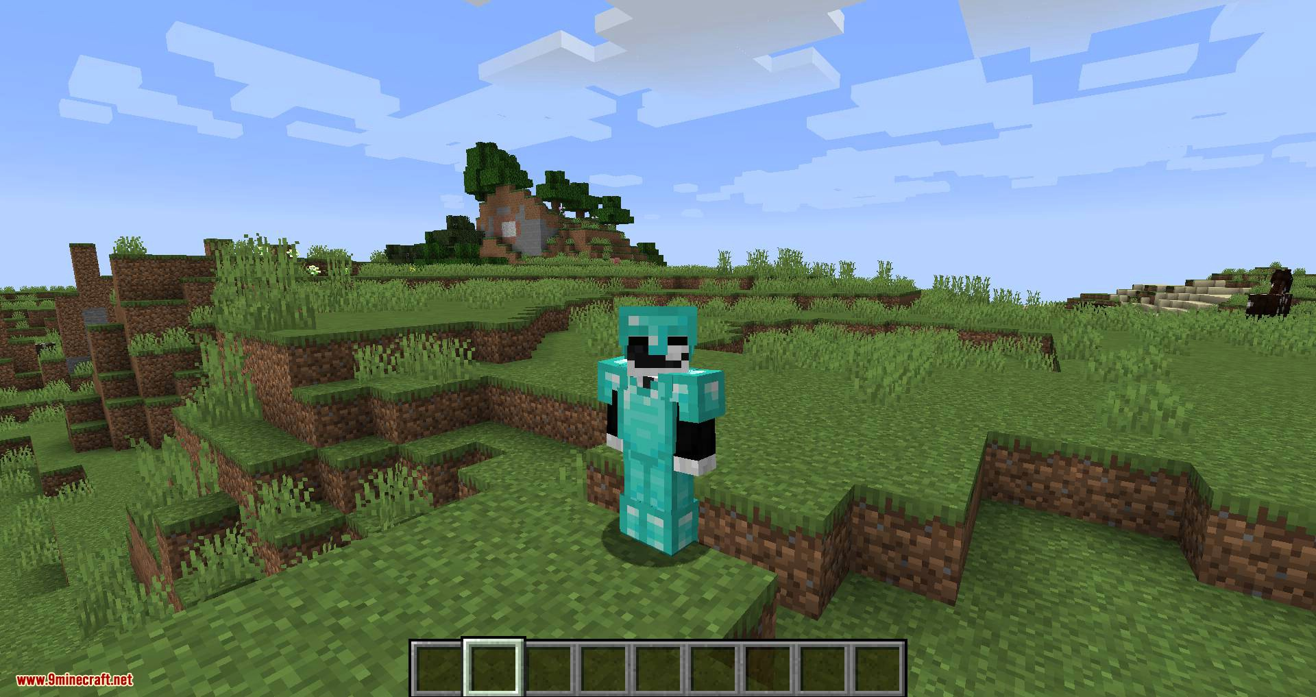 Cosmetic Armor Slots mod for minecraft 01