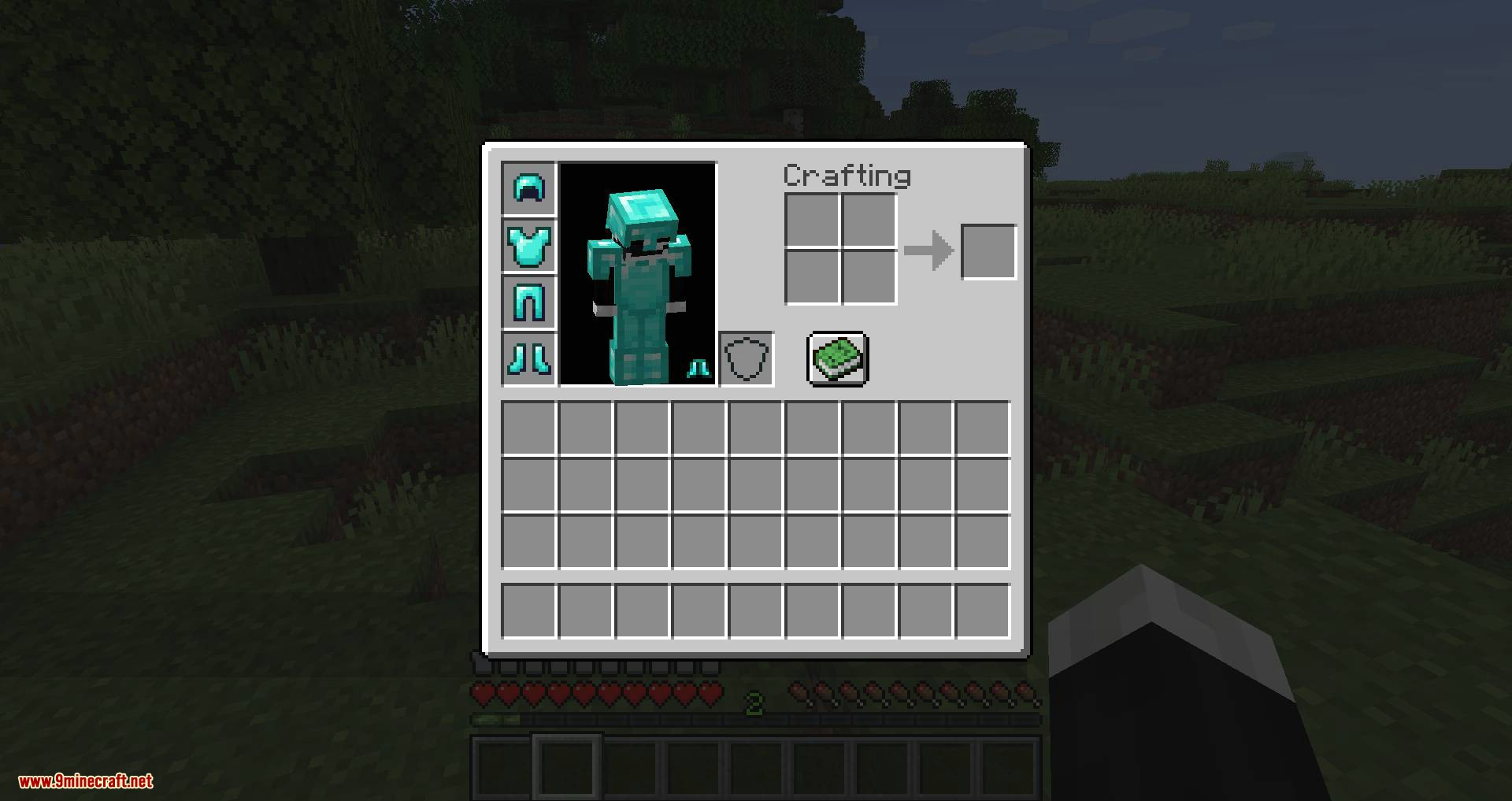 Cosmetic Armor Slots mod for minecraft 02