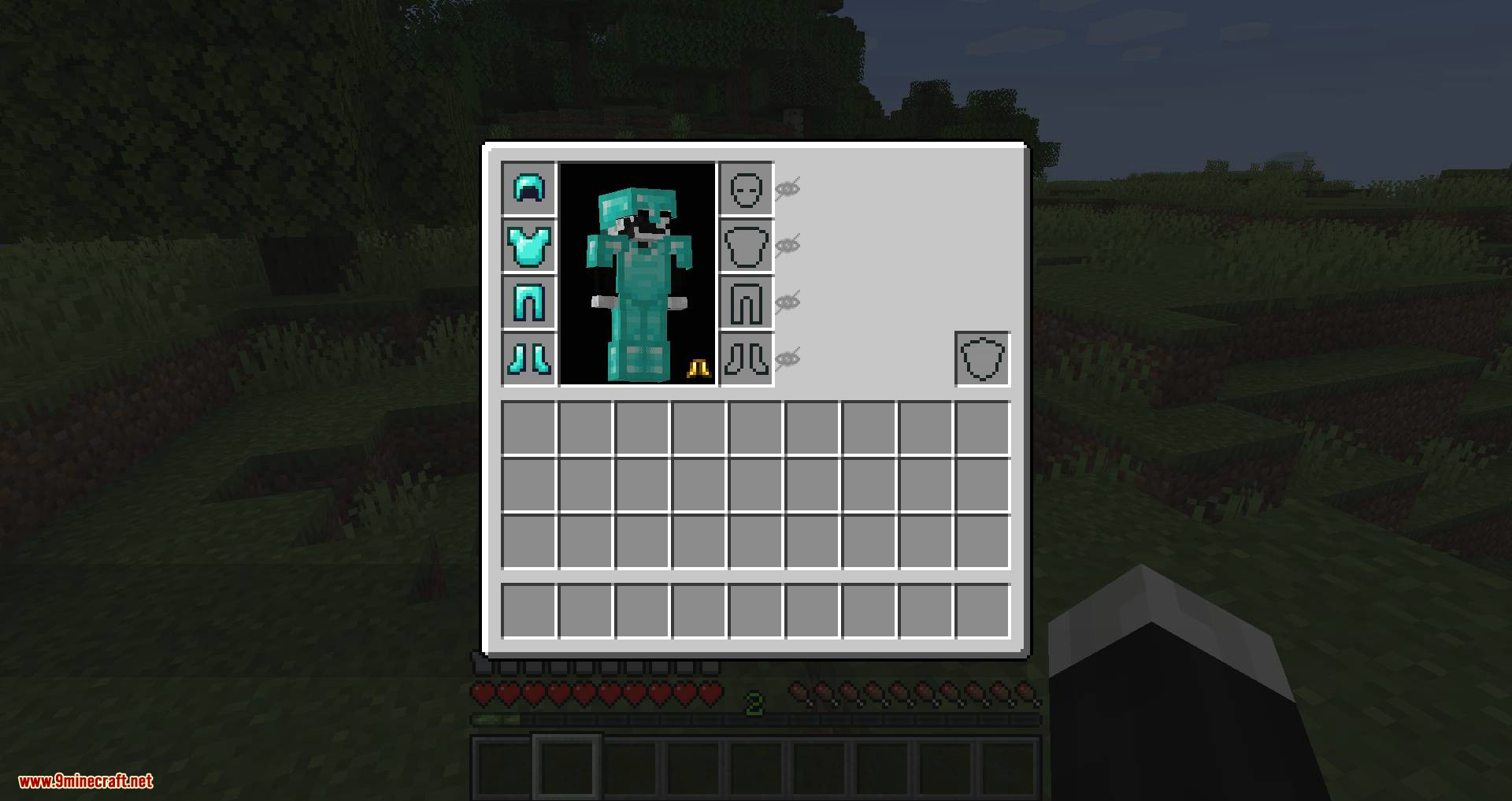 Cosmetic Armor Slots mod for minecraft 03
