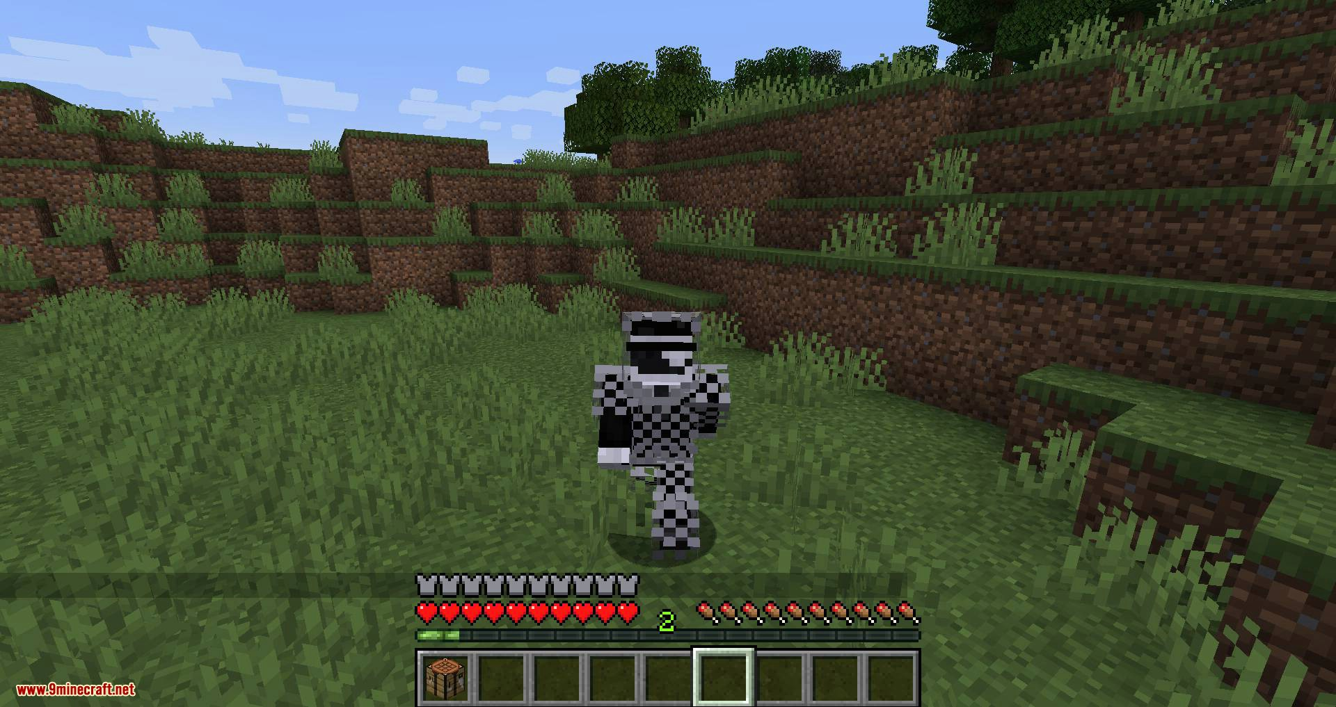 Cosmetic Armor Slots mod for minecraft 10