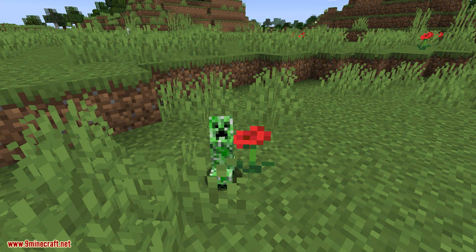 Creeper Spores mod for minecraft 02