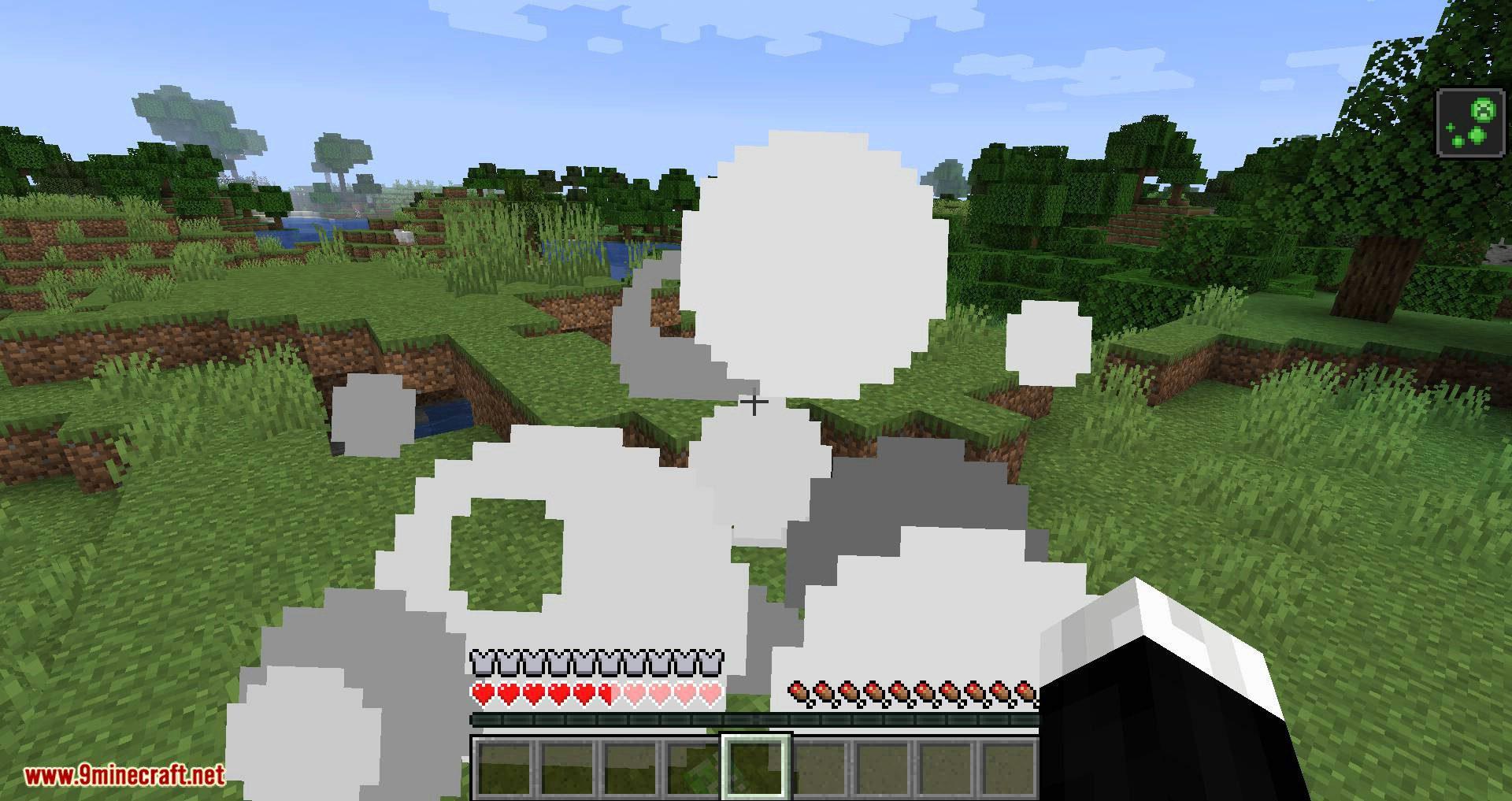 Creeper Spores mod for minecraft 05