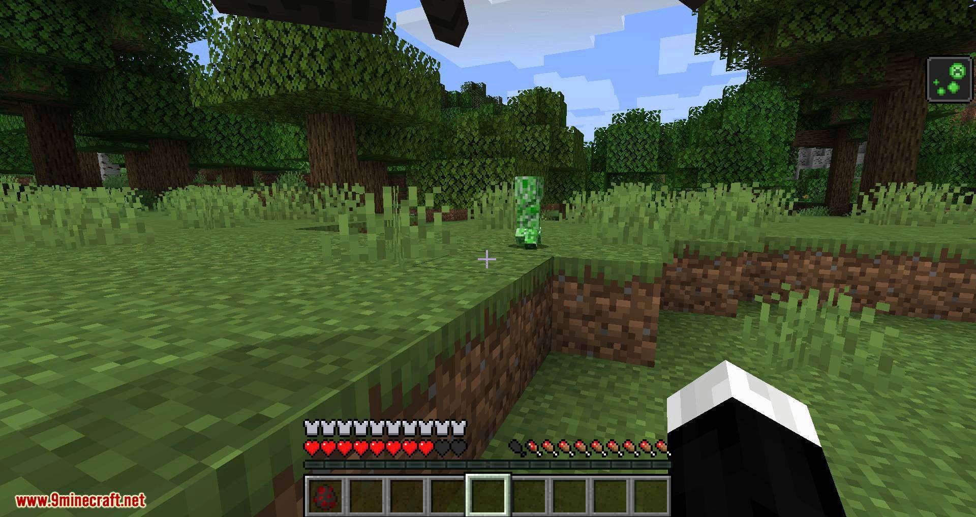 Creeper Spores mod for minecraft 07