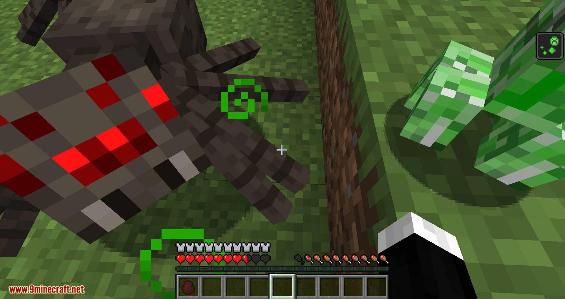 Creeper Spores mod for minecraft 08