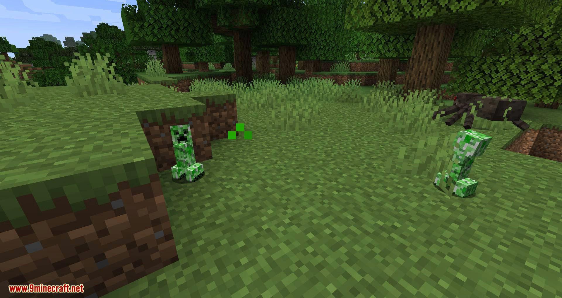 Creeper Spores mod for minecraft 09