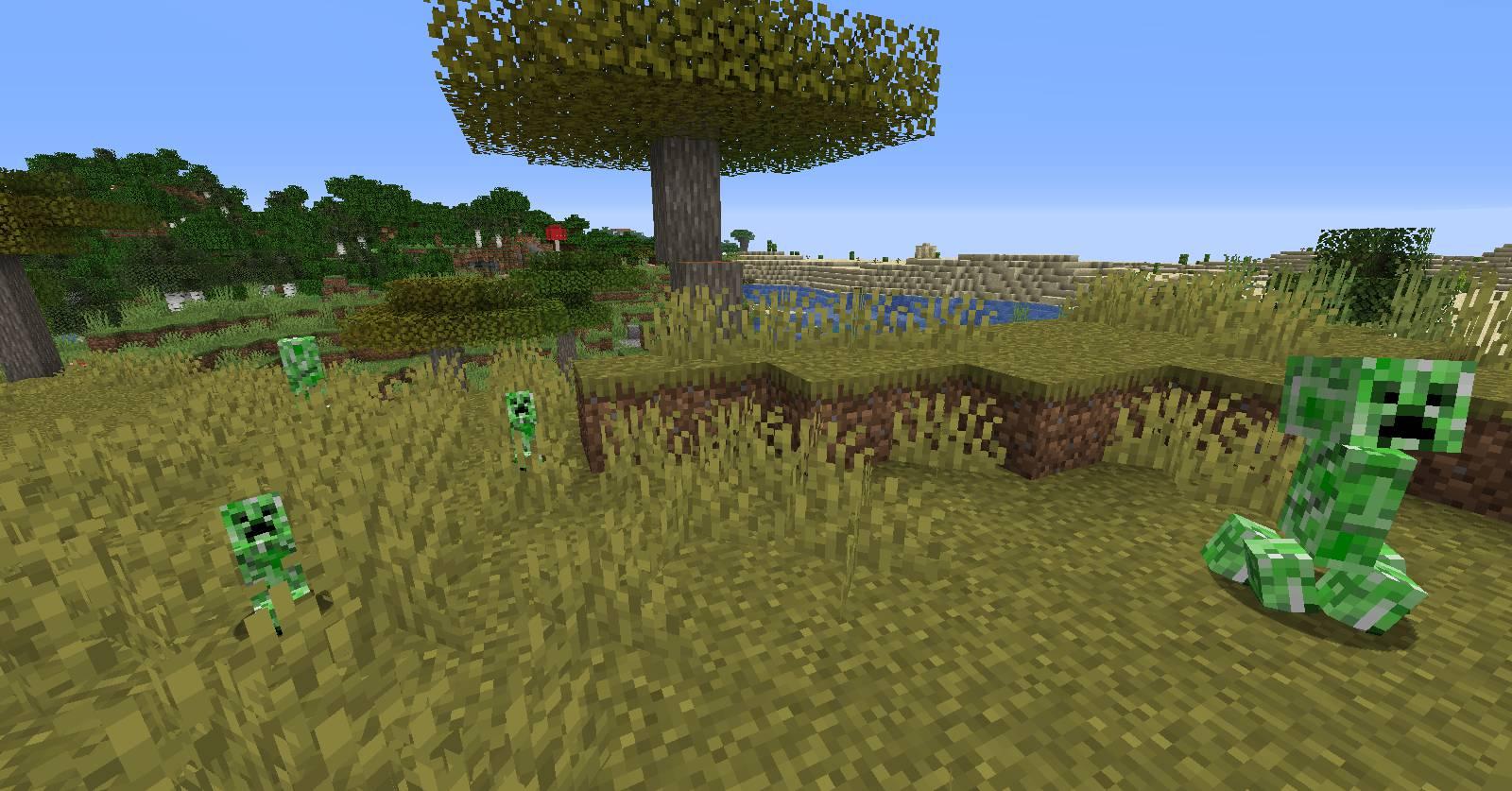 Creeper Spores mod for minecraft 22