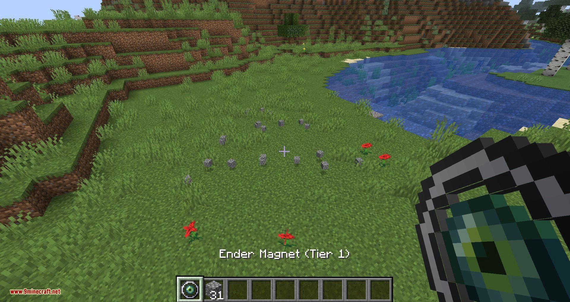 Ender Magnet mod for minecraft 02