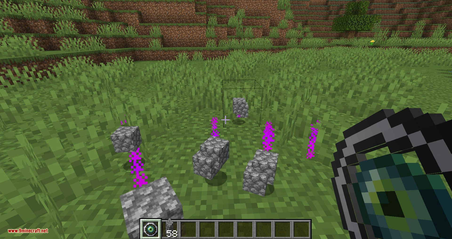 Ender Magnet mod for minecraft 03
