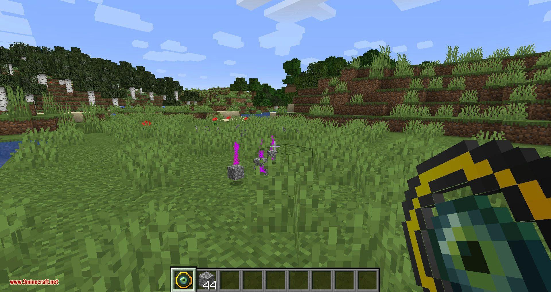 Ender Magnet mod for minecraft 06