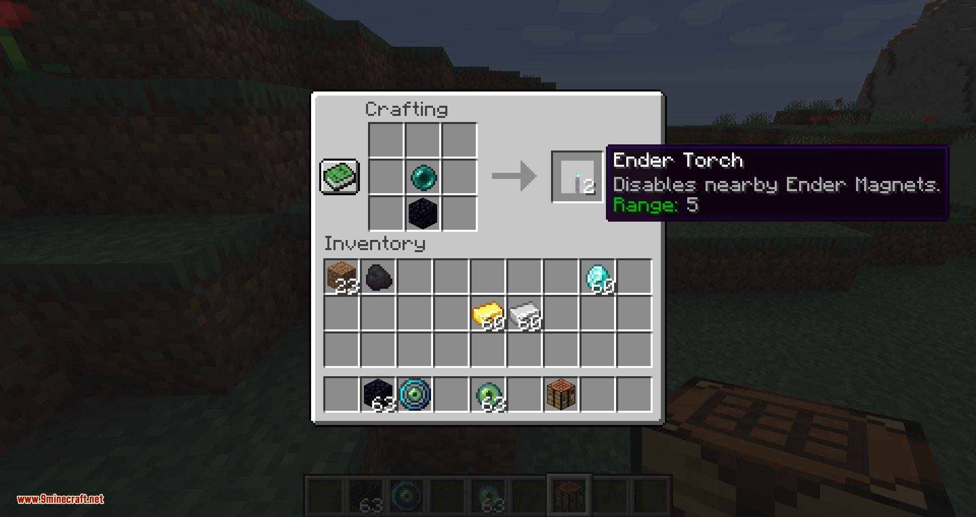 Ender Magnet mod for minecraft 16