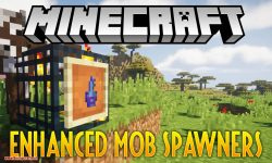 Enhanced Mob Spawners mod for minecraft logo