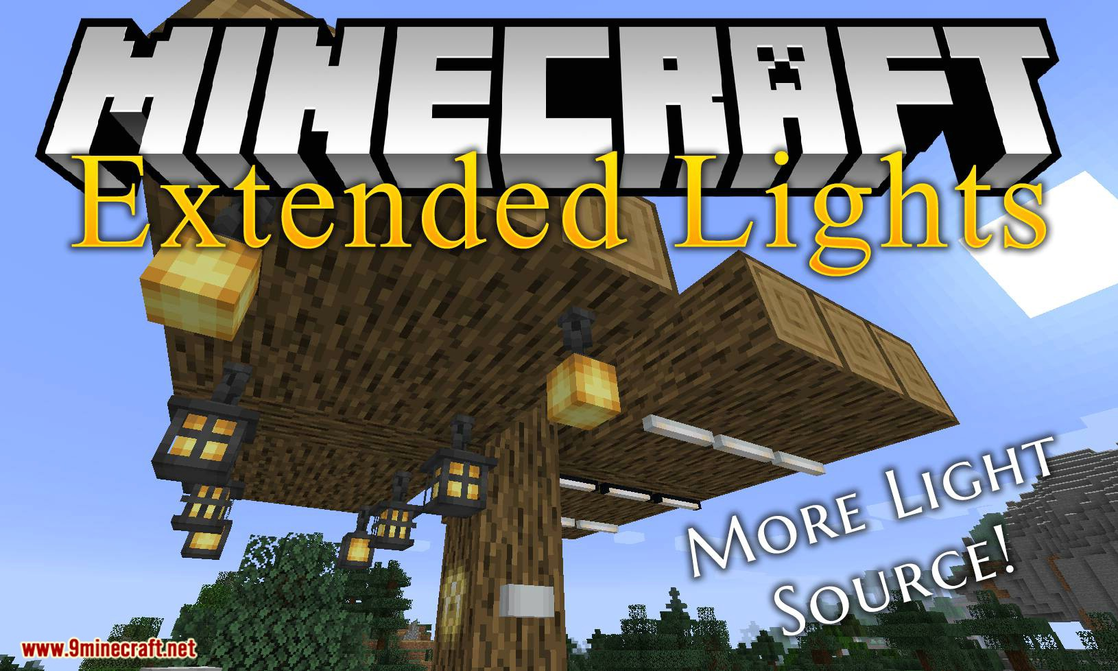 Extended Lights mod for minecraft logo