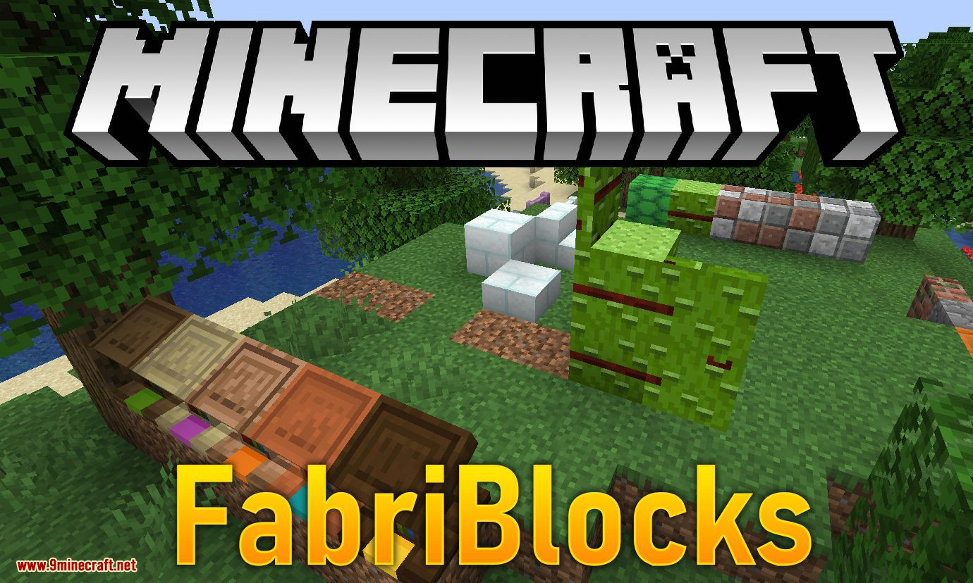 FabriBlocks Mod 1 14 4 (Adds Building and Decoration Blocks for