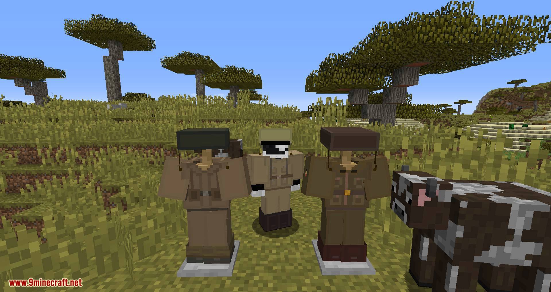 Flan_s Content Pack WW2 Armors mod for minecraft 09