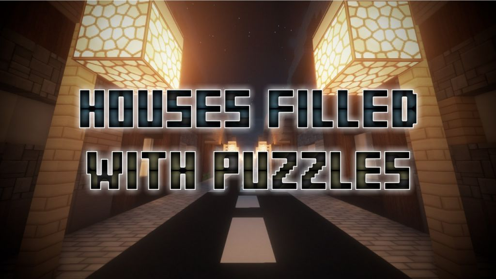 Houses Filled With Puzzles Map Thumbnail