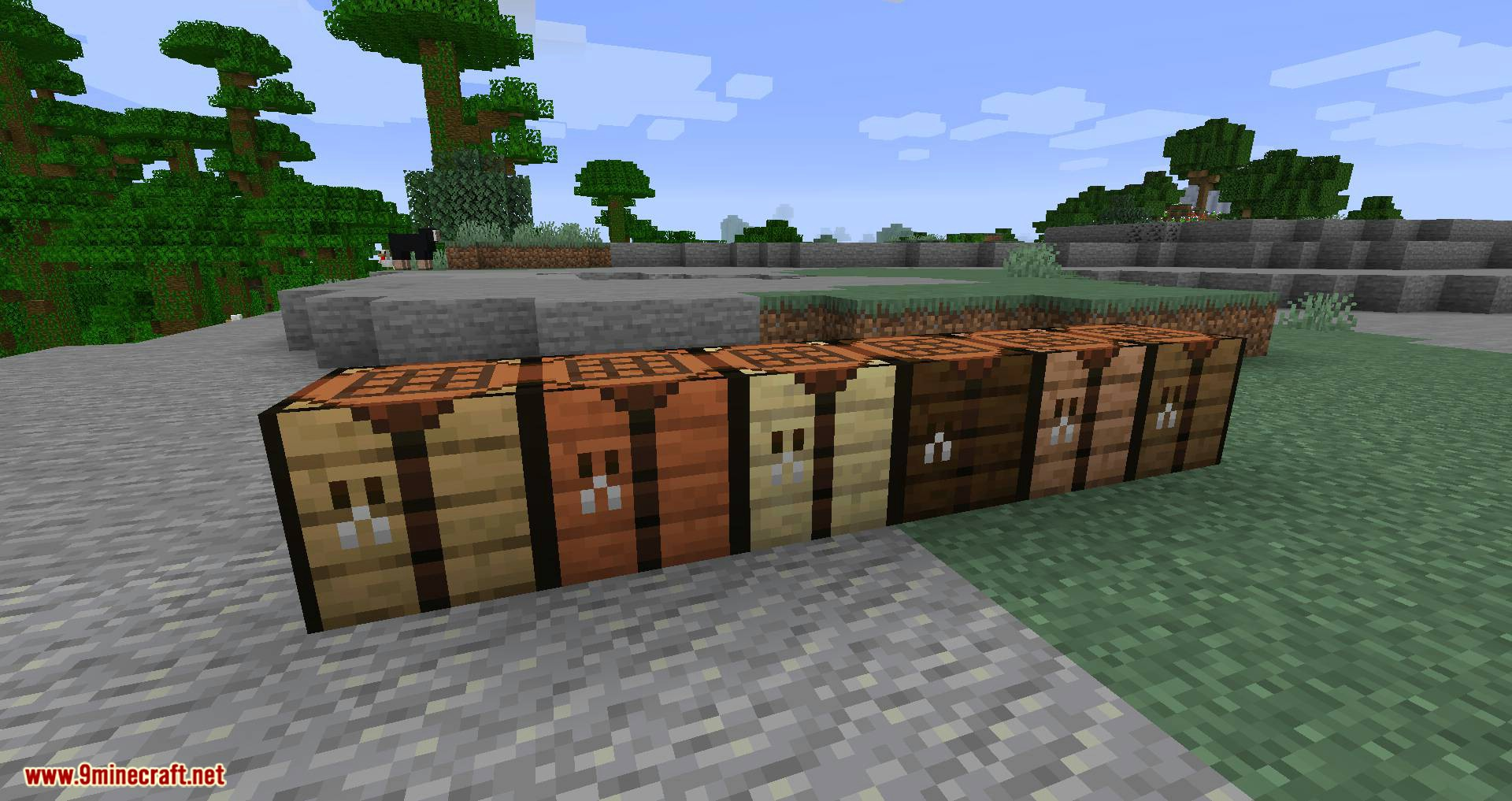 I Love Wood mod for minecraft 02