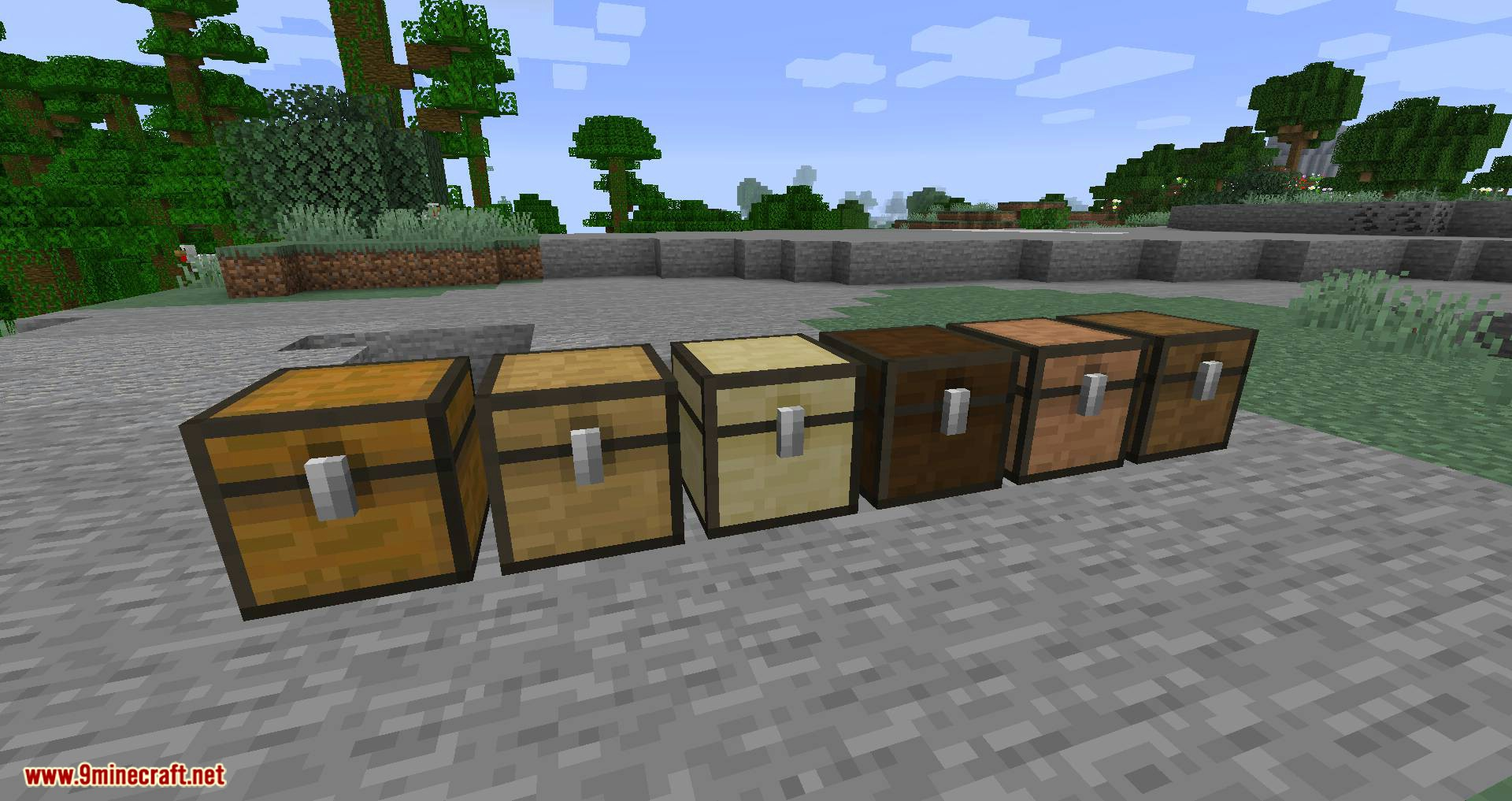 I Love Wood mod for minecraft 04