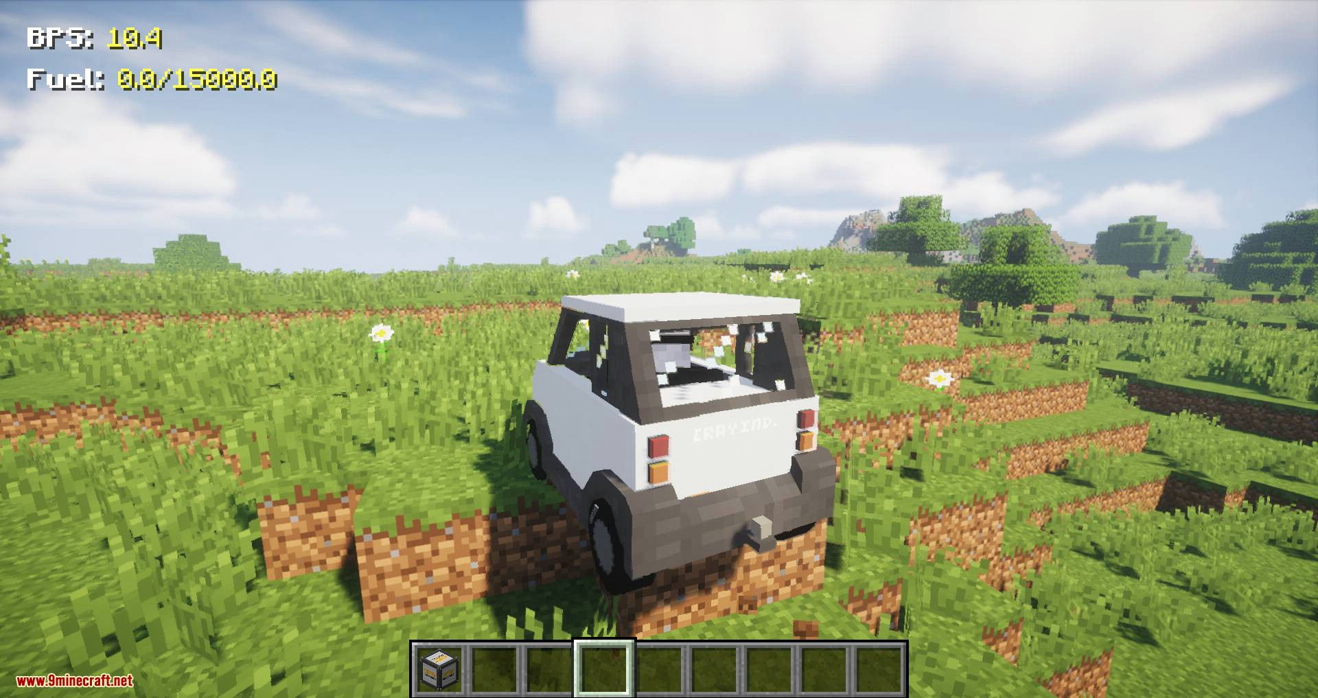 Just Enough Vehicles mod for minecraft 01