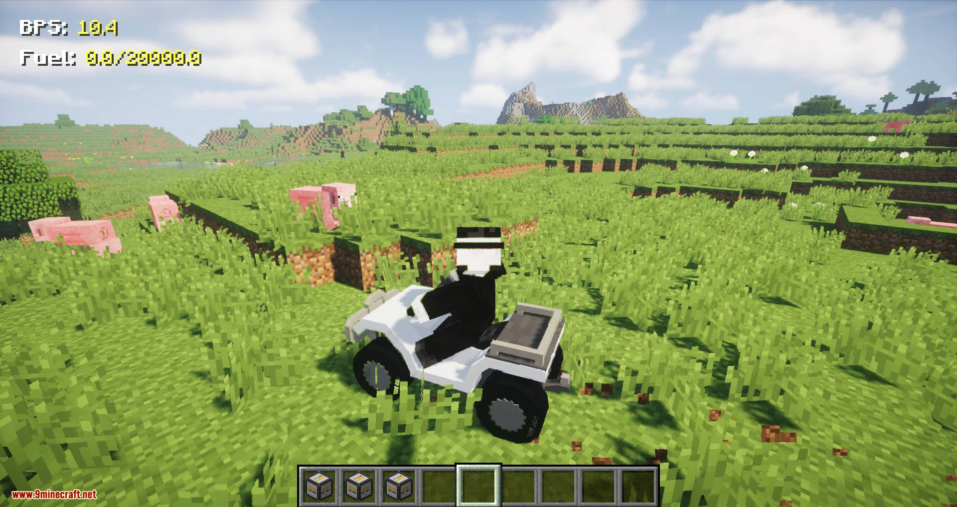 Just Enough Vehicles mod for minecraft 02