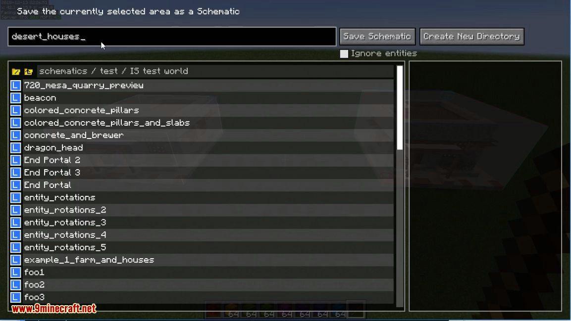 Litematica mod for minecraft 09