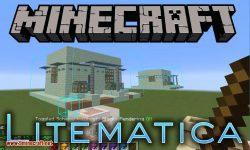 Litematica mod for minecraft logo