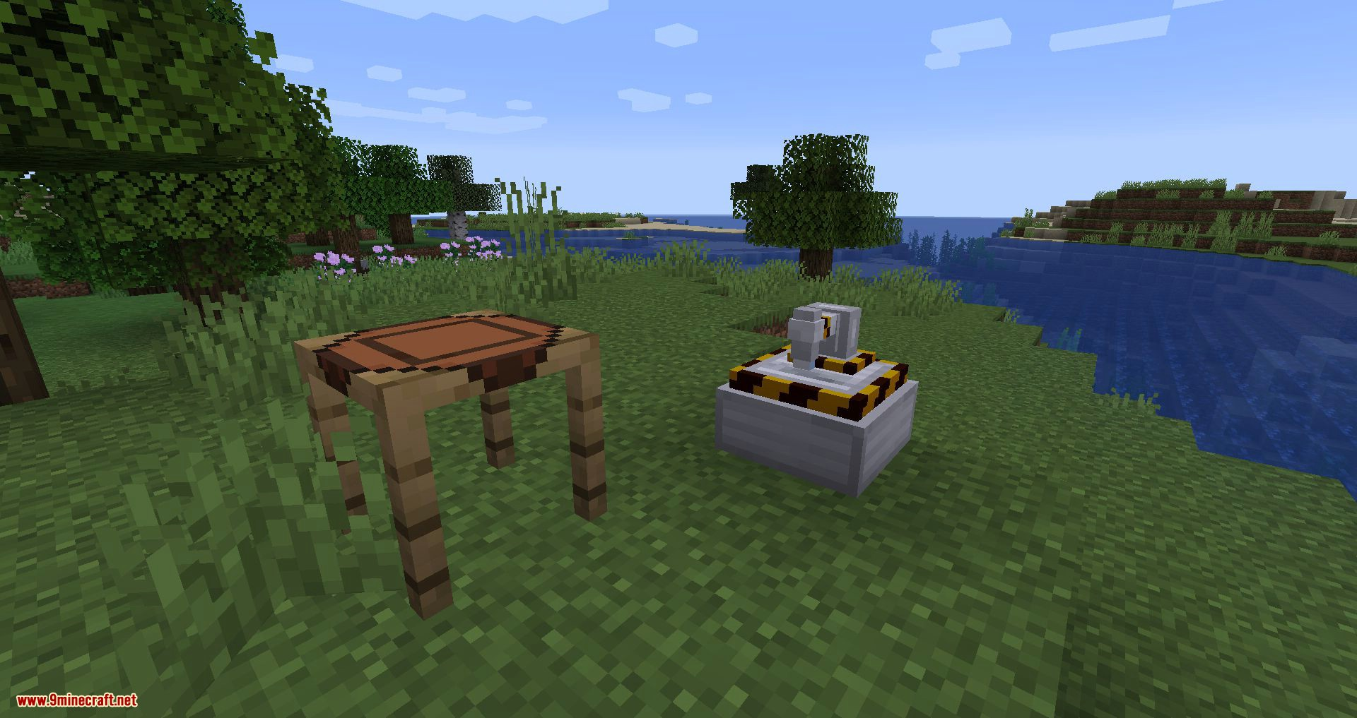 Materialisation mod for minecraft 01