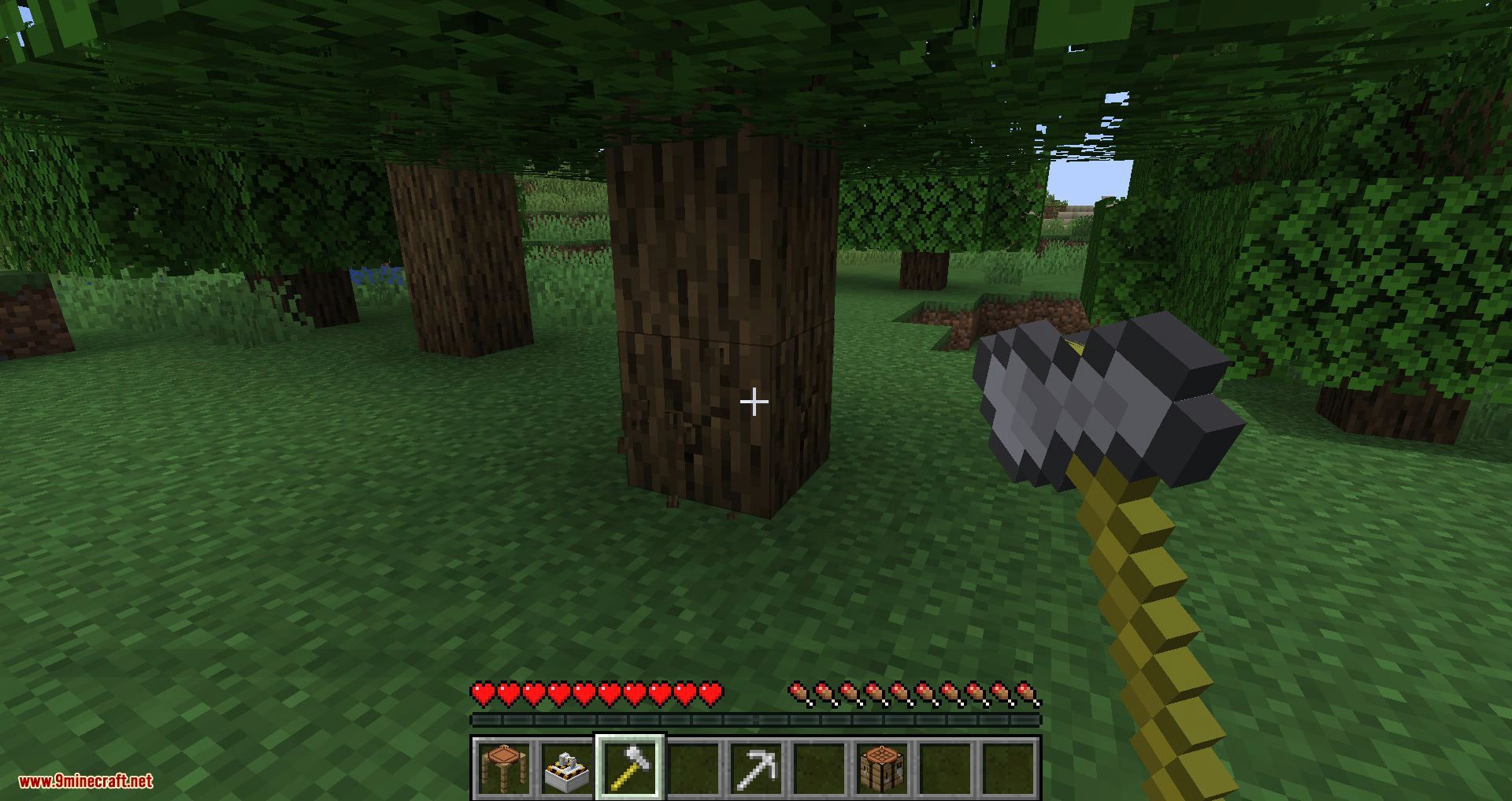 Materialisation mod for minecraft 09