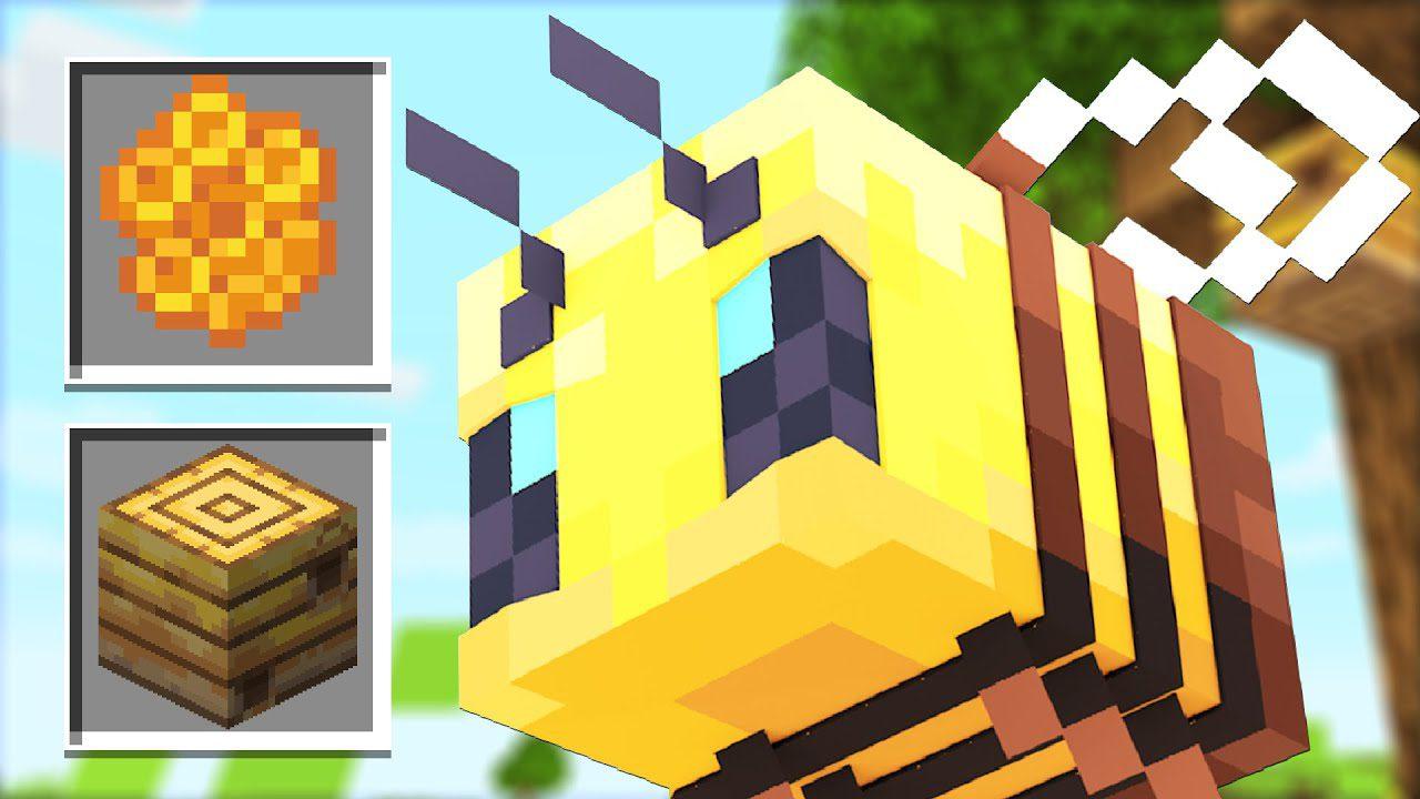 Minecraft 12.125 Snapshot 129w12a (Bee Nest, Hive, Honeycomb & Honey