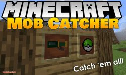 Mob Catcher mod for minecraft logo