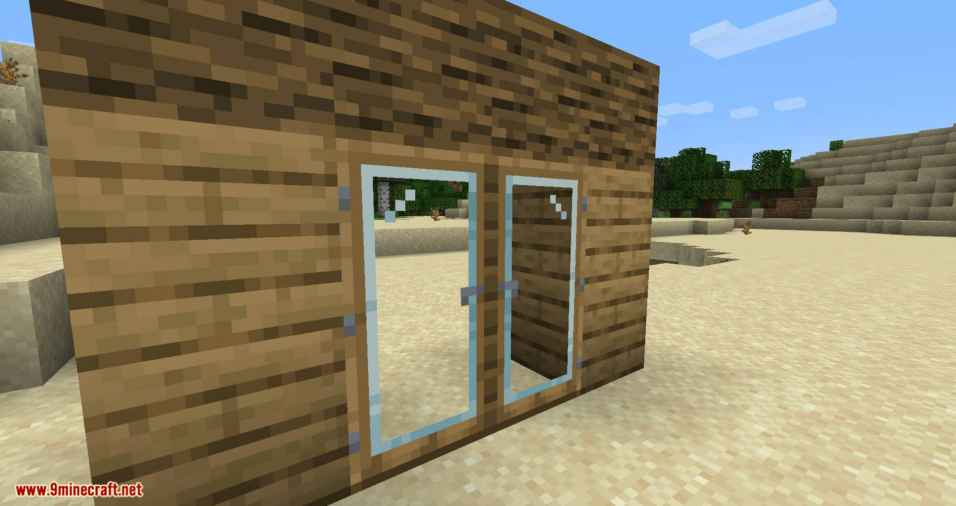 Modern Glass Doors mod for minecraft 03