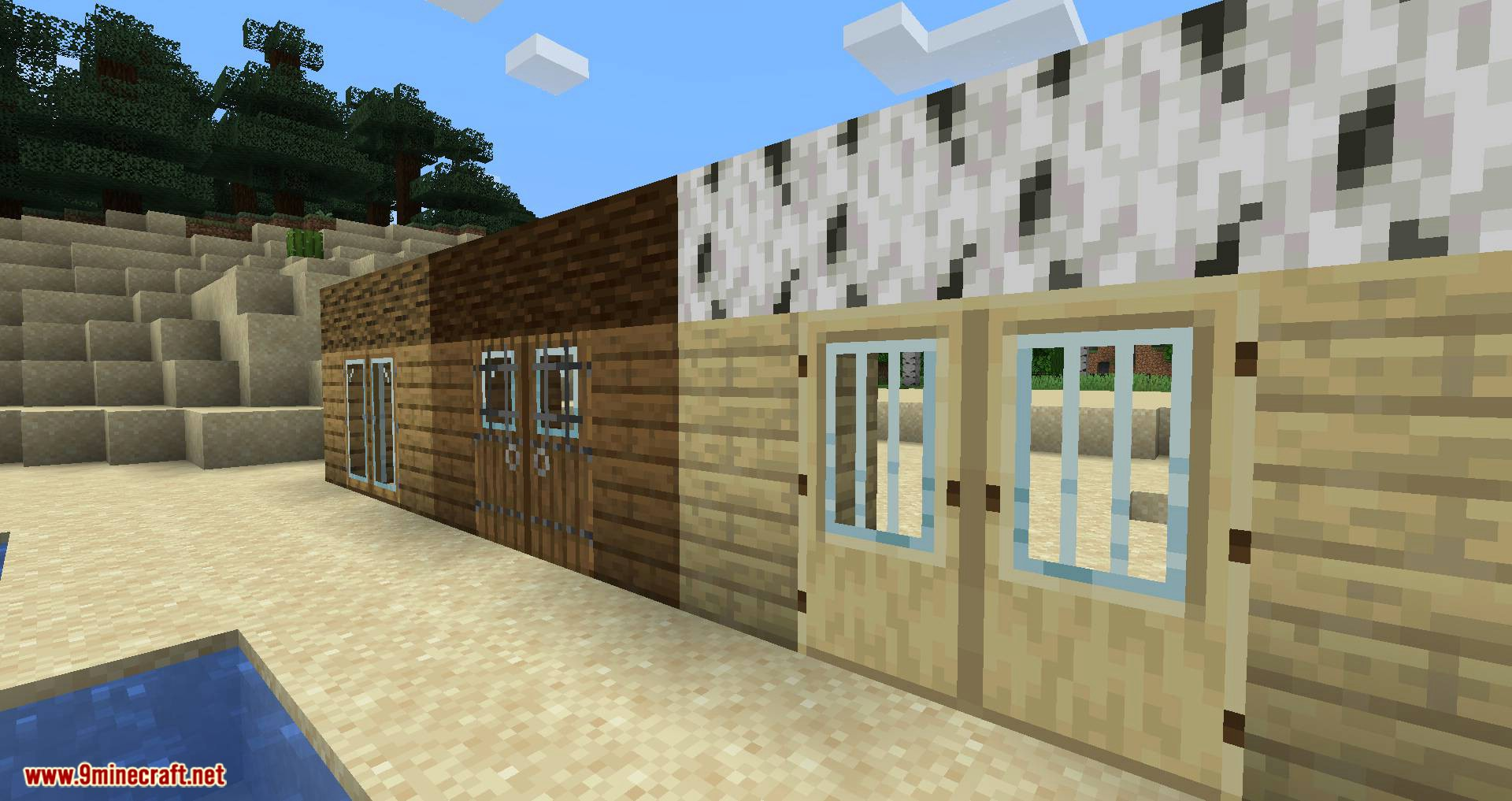 Modern Glass Doors mod for minecraft 04