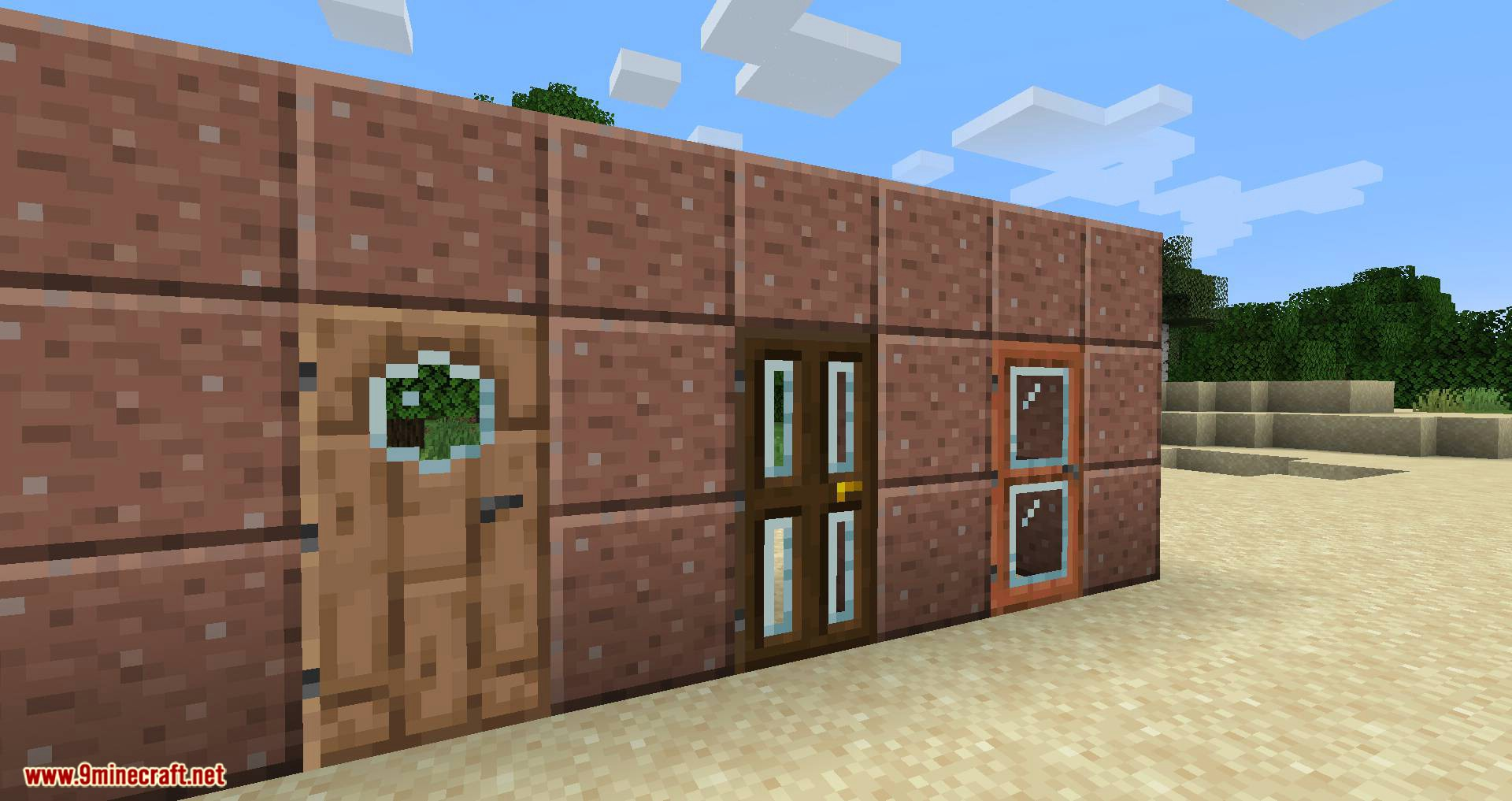Modern Glass Doors mod for minecraft 06