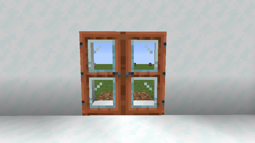 Modern Glass Doors mod for minecraft 21