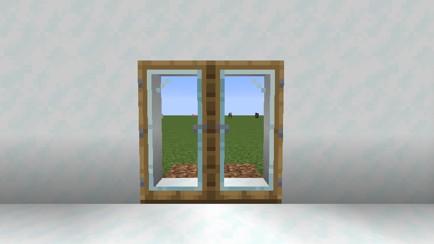 Modern Glass Doors mod for minecraft 22