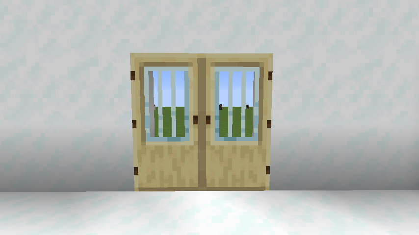 Modern Glass Doors mod for minecraft 24
