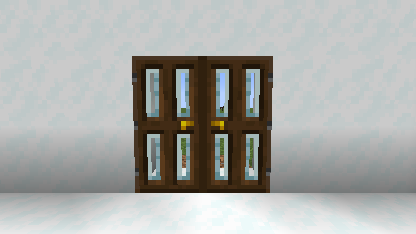 Modern Glass Doors mod for minecraft 25