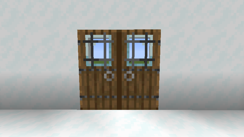 Modern Glass Doors mod for minecraft 26