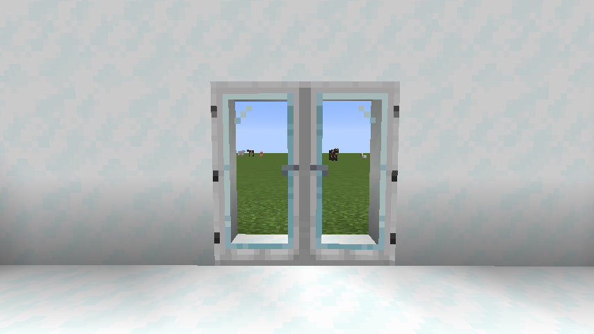Modern Glass Doors mod for minecraft 27