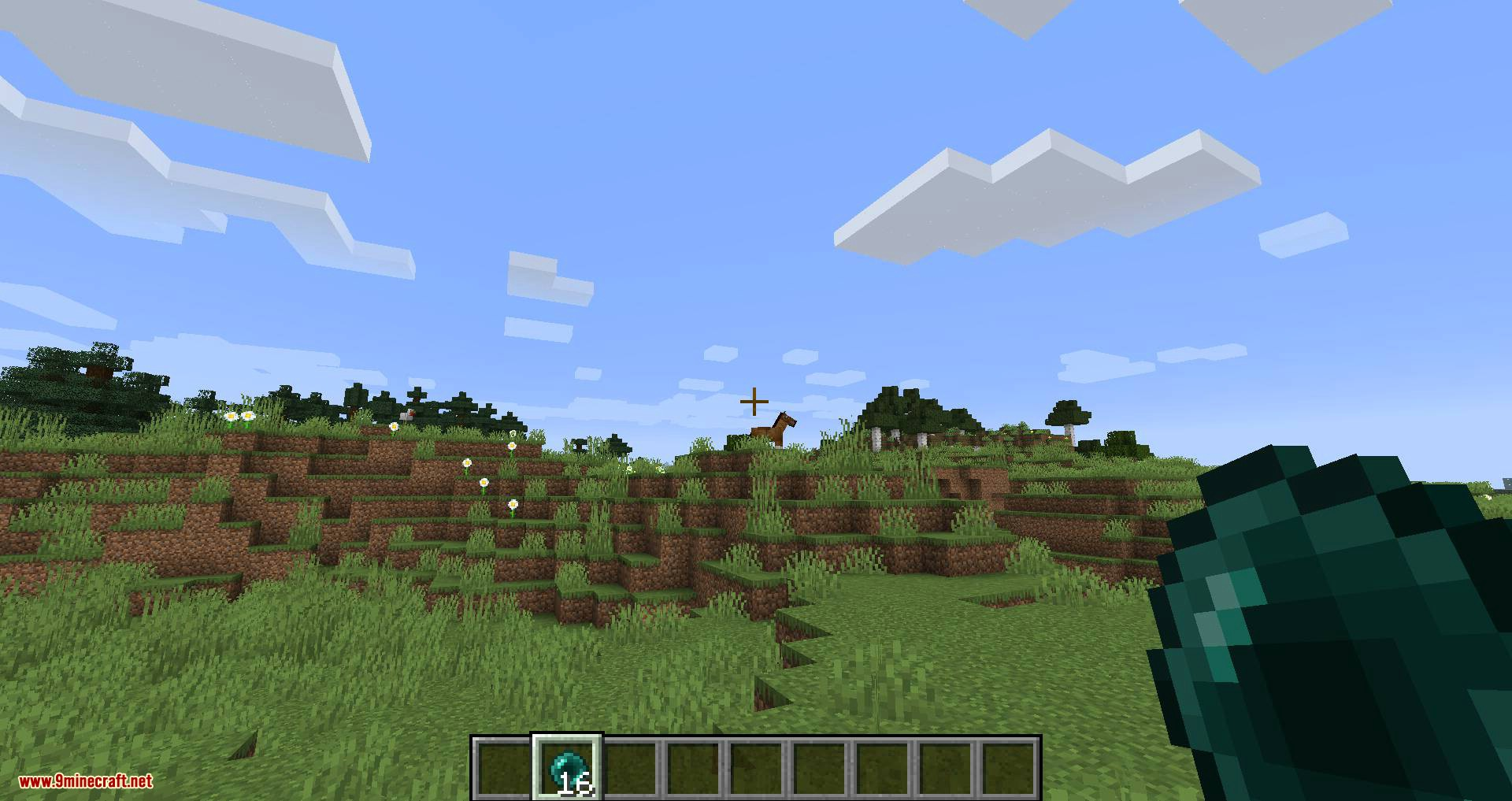 Mounted Pearl mod for minecraft 05