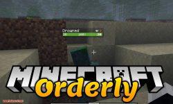Orderly mod for minecraft logo