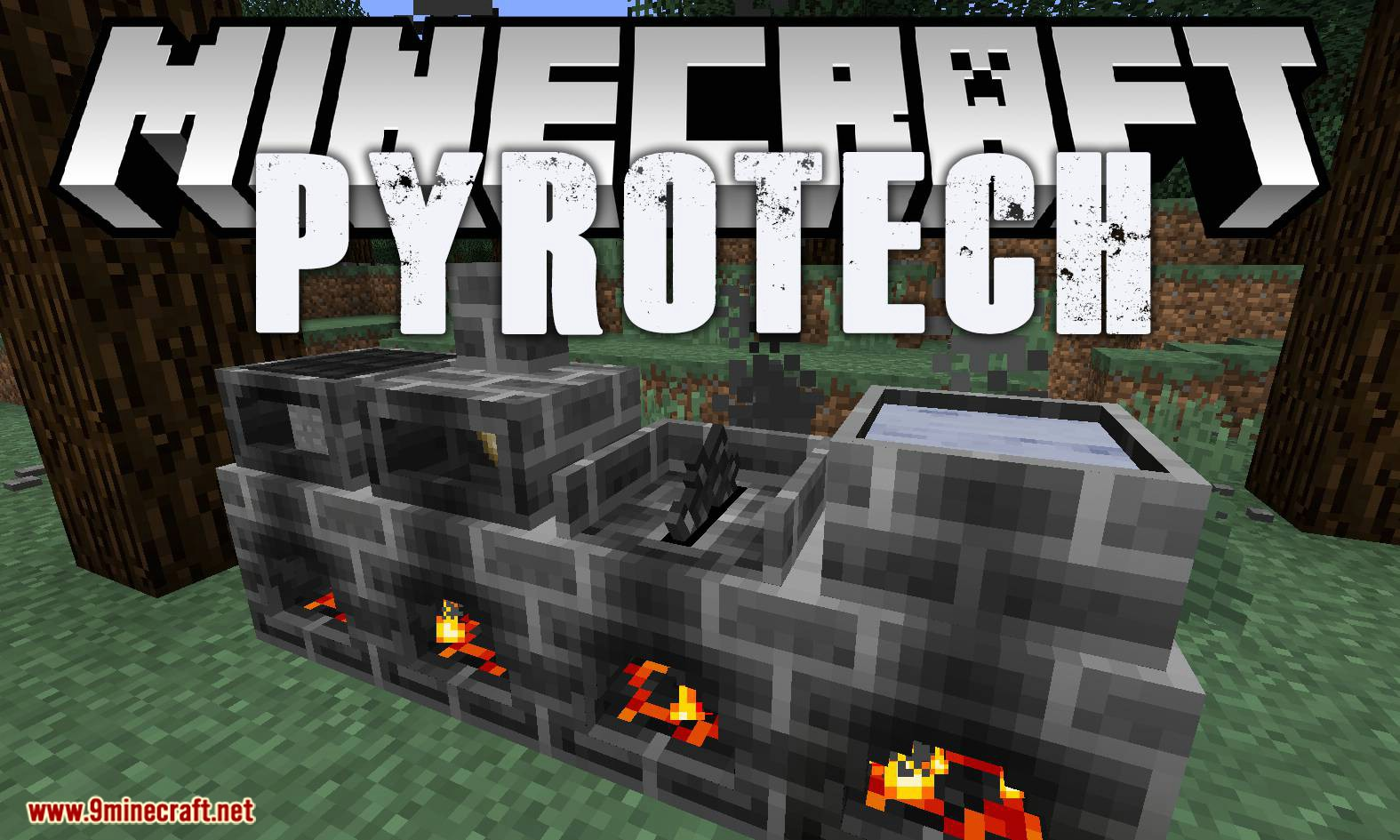 Pyrotech mod for minecraft logo