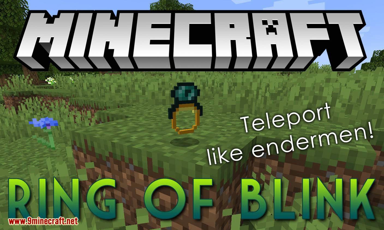 Ring of Blink mod for minecraft logo