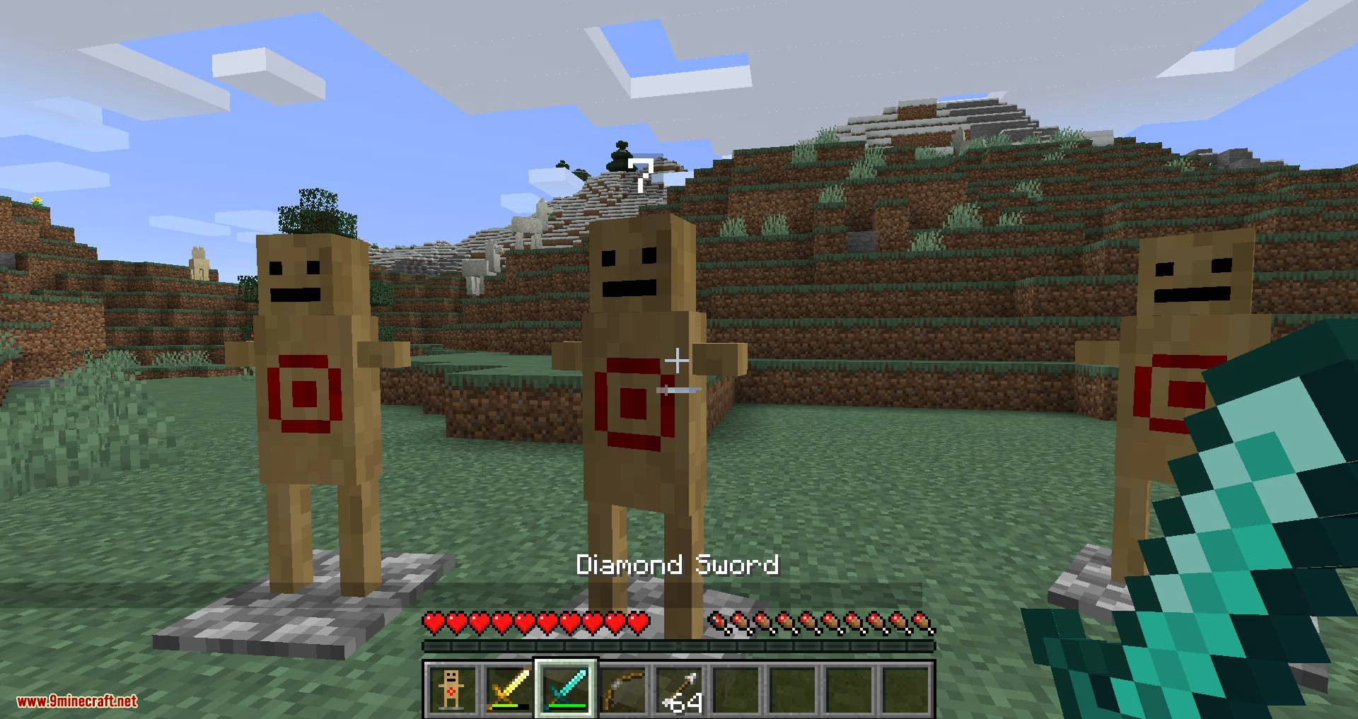 Target Dummy mod for minecraft 03