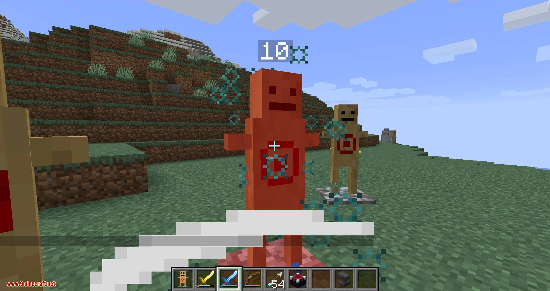 Target Dummy mod for minecraft 06