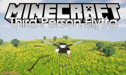 Third Person Elytra mod for minecraft logo