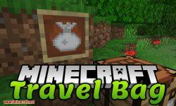 Travel Bag mod for minecraft logo