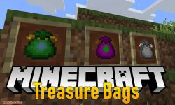Treasure Bags mod for minecraft logo