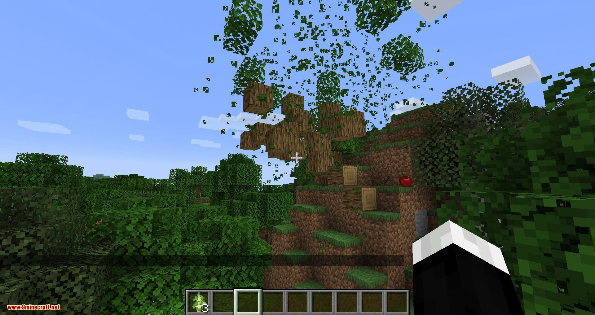 Trees Do Not Float mod for minecraft 11