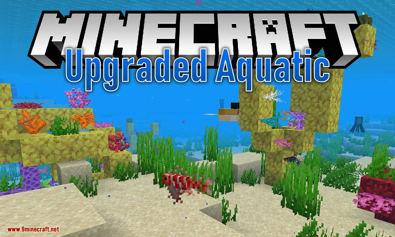 Upgrade Aquatic Mod 11212.112126.11212/11212.1121211212.12 (New Fish, Sea Monsters and more